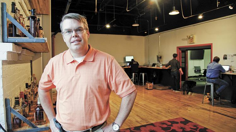 Stacy Griggs, president and CEO of El Toro, said the company has seen rapid growth. Since May 2013, the tech startup has almost doubled its office space in Distillery Commons and has quadrupled its staff.
