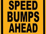 Ed Goldman: About the proliferation of speed humps, bumps and lumps