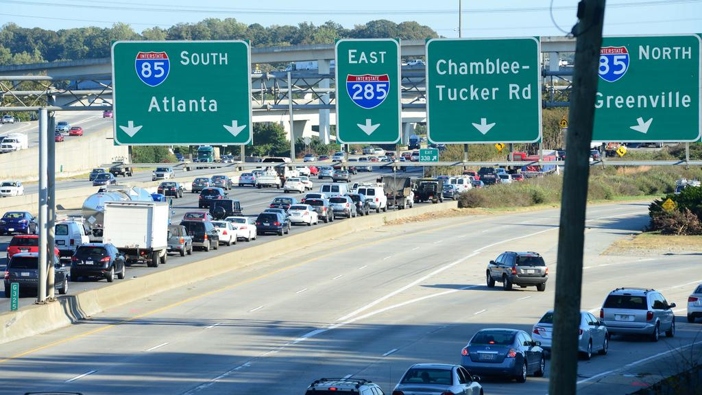GDOT: Avoid using I-285 if you can over weekend (Metro road work