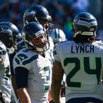 Seahawks' <strong>Lynch</strong> doesn't talk; maybe his money will