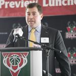 Bucks players, execs exude optimism at MMAC tipoff luncheon: Slideshow