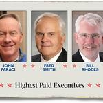 The highest paid executives in Memphis