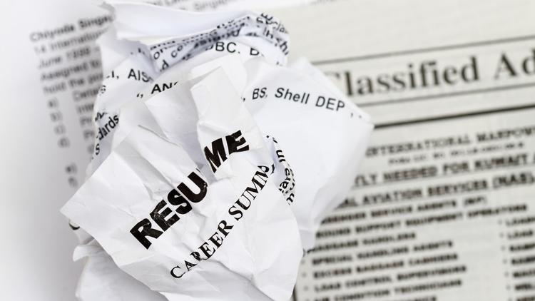 Careerbuilder Survey Of Most Outrageous Resume Mistakes - Phoenix