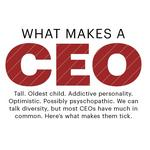 What makes a CEO: From personality traits to height to birth order and everything in between
