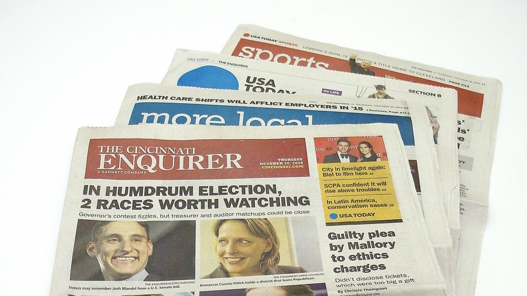 Cincinnati Enquirer's No  2 editor out as staffers bolt