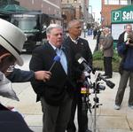 Larry Hogan touts 'pro-business attitude,' but few specifics in campaign's final hours
