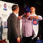 Cubs skipper Joe Maddon honored by baseball writers