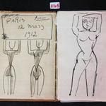 Is Washington state auctioning off a Picasso sketchbook?
