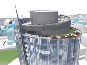 The design team says the top of the tower will enhance Seattle's skyline.