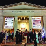 A busy night at The Playhouse.