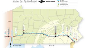 Sunoco plans second pipeline for Mariner East 2