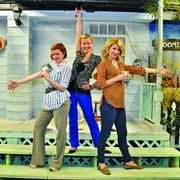 Left to right: Although they run the back office, Wolfe, Ciaravino and Casella are no strangers to center stage at The Playhouse.