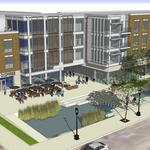 Wangard Walker's Point project with Cermak, apartments advances