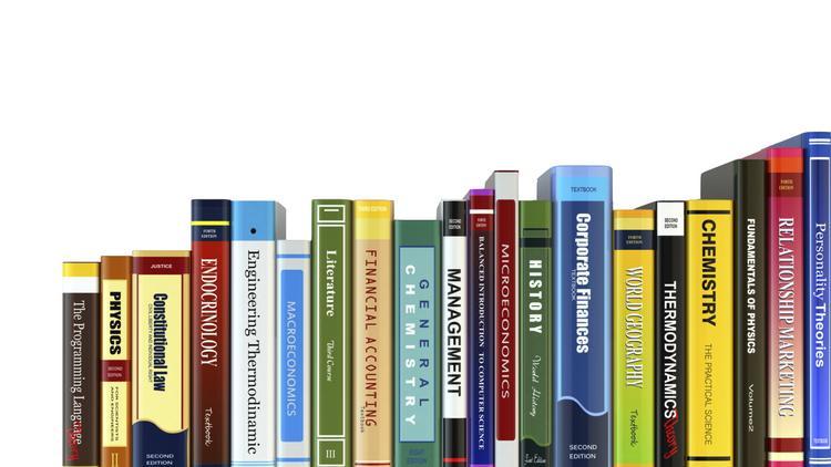 理科補習 - A lot of textbooks