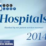 Region's top 5 hospitals saw record revenue in 2013 despite drop in admissions