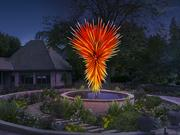 """Rendering of Dale Chihuly's """"Colorado."""""""