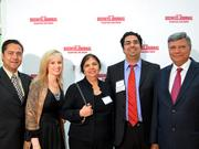 The Soin family was among the distinguished attendees of the 40 Under 40 awards gala as Dr. Amol Soin was inducted into the Hall of Fame. (Right to left) Raj Soin, Dr. Amol Soin, Indu Soin, Melissa Soin and Vishal Soin.