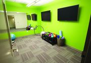 The virtual fitness room at The Brix@26.
