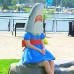 'Shark Girl' leaves Canalside for cosmetic repairs