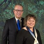 Corporate Citizenship: <strong>Richard</strong> and Debra <strong>Campbell</strong>, 2014 Distinctive Community Service