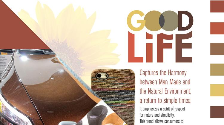 The Good Life Automotive Color Palette Captures Harmony Between Man Made And