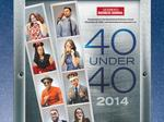 Getting a fun look at the 40 Under 40 honorees
