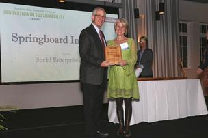Sustainable Awards 2014 Amy Pearl Springboard Innovation