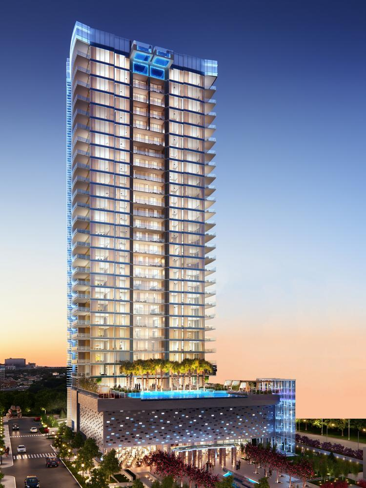 Harwood S Ultra Luxe Skyscraper Bleu Ciel Ready To Rise