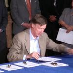 Hickenlooper signs three business bills into law