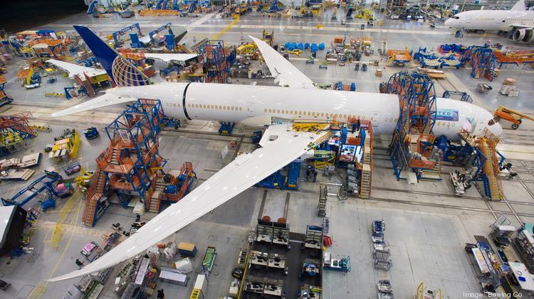 Boeing S South Carolina Plant Delivers First 787 9 Dreamliner Puget Sound Business Journal