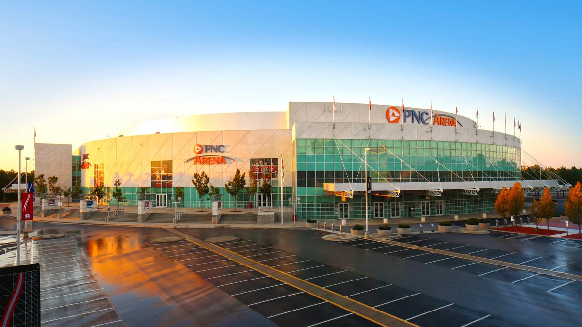 Pnc arena landlord explores new feature to sweeten fan for New durham media center
