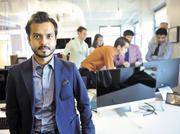 Abhishek Mehta at Tresata's Packard Place headquarters