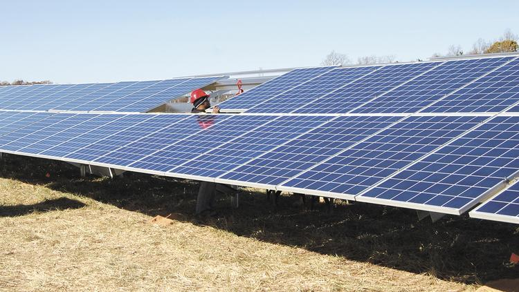 North Carolina had a good first quarter for new solar capacity additions to the grid, finishing second in the nation.