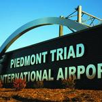Only a few cancellations at Triad airport