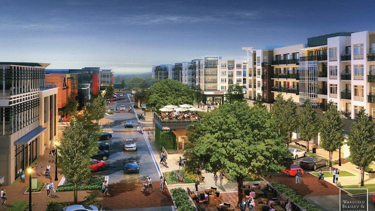 The Wade Park mixed-use development will bring millions of new square feet of real estate to Frisco.