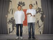 Ken Tominaga Michael Mina at their San Francisco restaurant PABU. The duo has been picked to open a PABU at the Millennium Tower in Boston.