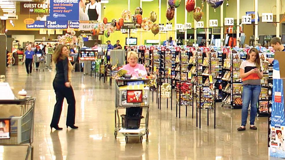 Kroger laying off hundreds of store managers, report says