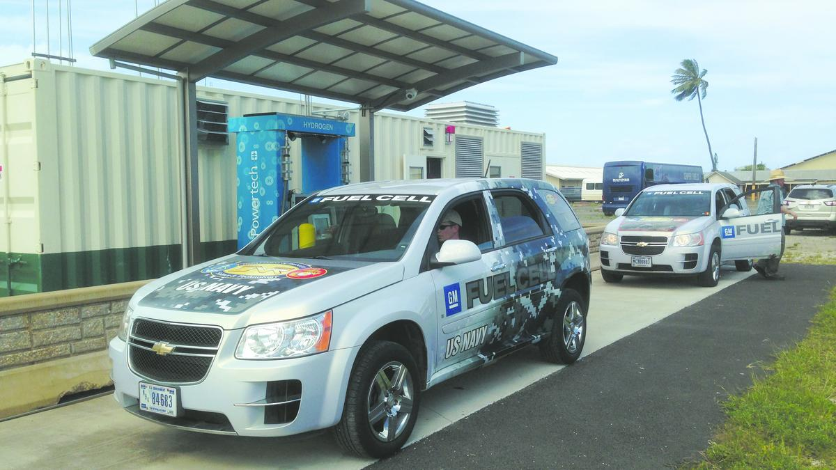 Hawaii Among Top States In U S For Hydrogen Fuel Cell