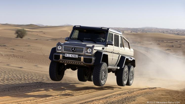 The 2017 Mercedes Benz Amg G63 6x6 Is Six Wheeled Variant Of