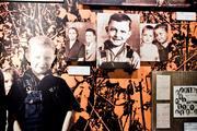Inside The Johnny Cash Museum.