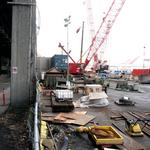 Water pumping to stop at Bertha tunnel site after viaduct sinks; project delays likely