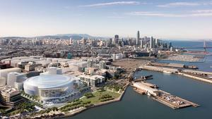 Exclusive: Uber buys stake in Mission Bay Warriors arena office project, but pulls back in Oakland