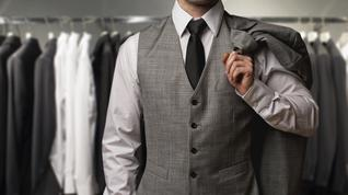 Do you keep extra business clothes at the office?