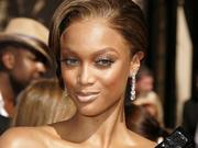 Tyra Banks arrives at the 58th Annual Emmy Awards at the Shrine Auditorium in Los Angeles, California on Sunday, August 27, 2006. Photographer: Francis Specker/Bloomberg News