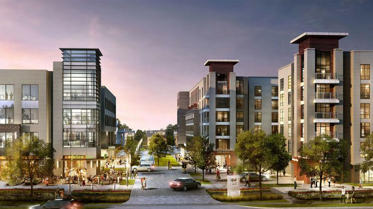 Midway Changes Memorial Green Mixed Use Development Plans