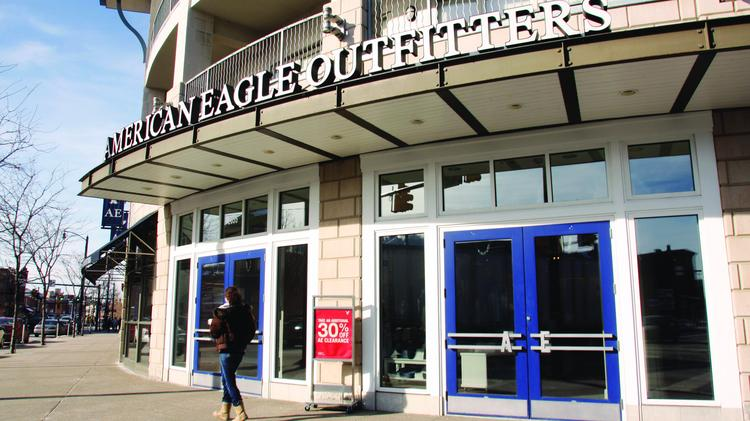 Exterior Of The American Eagle Outfitters Retail Store At SouthSide Works