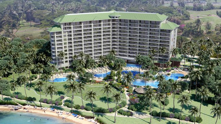 A Rendering Of Hyatt Kaanapali Beach Resident Club Resort