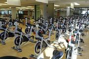 The spinning room at the Honolulu Club has 35 new spinner bikes.