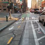 Seattle named tops among new urban bike lanes for 2014