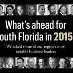 It's going to be a good year.  South Florida business leaders tell us why.